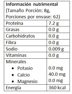 Nutrimental colágeno hidrolizado