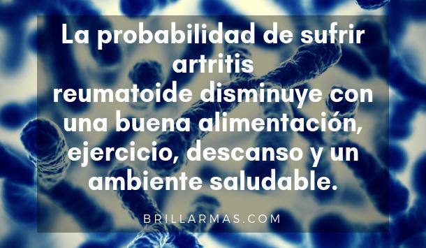 artritis es hereditaria