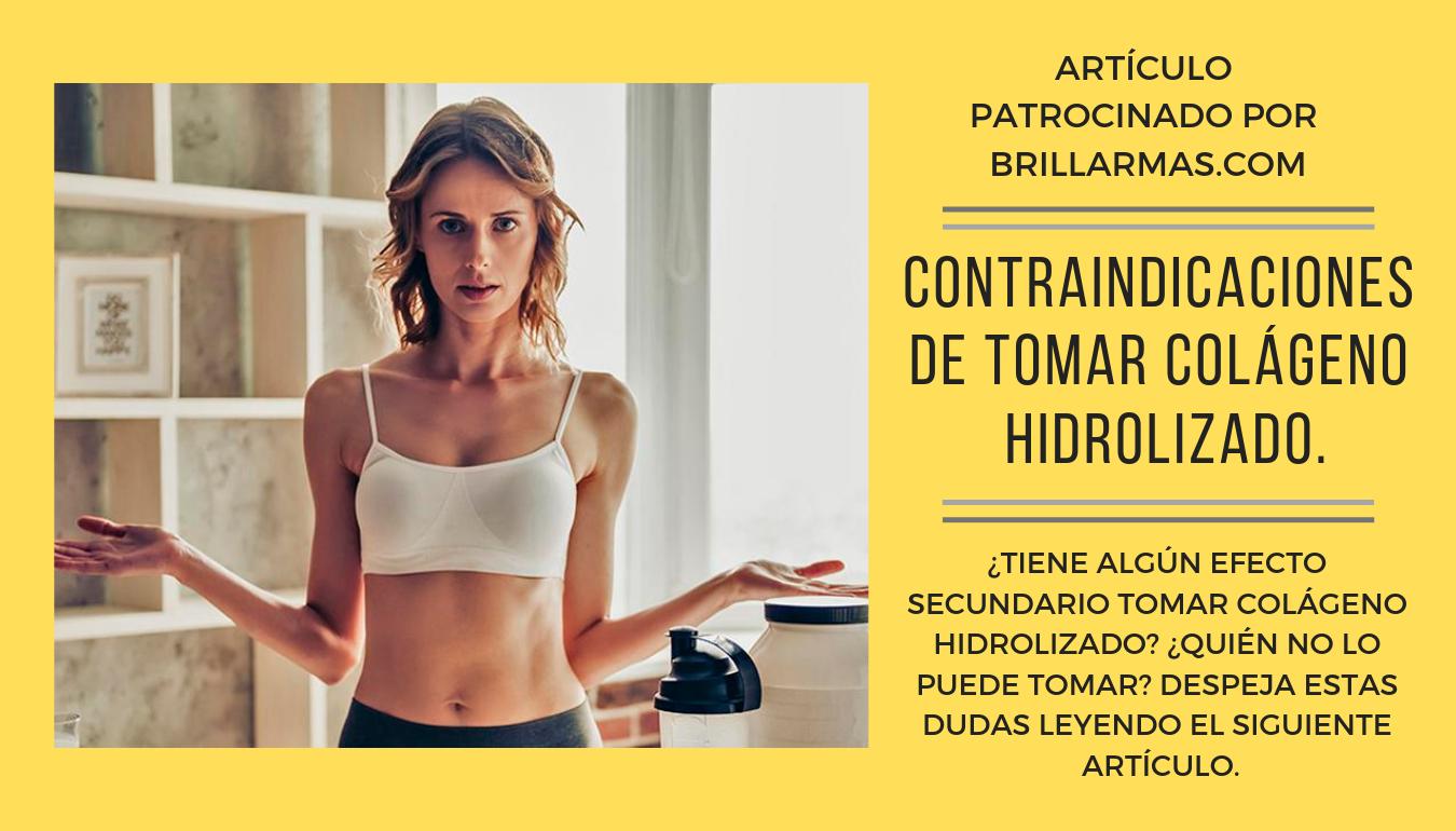 Contraindicaciones de tomar colágeno hidrolizado