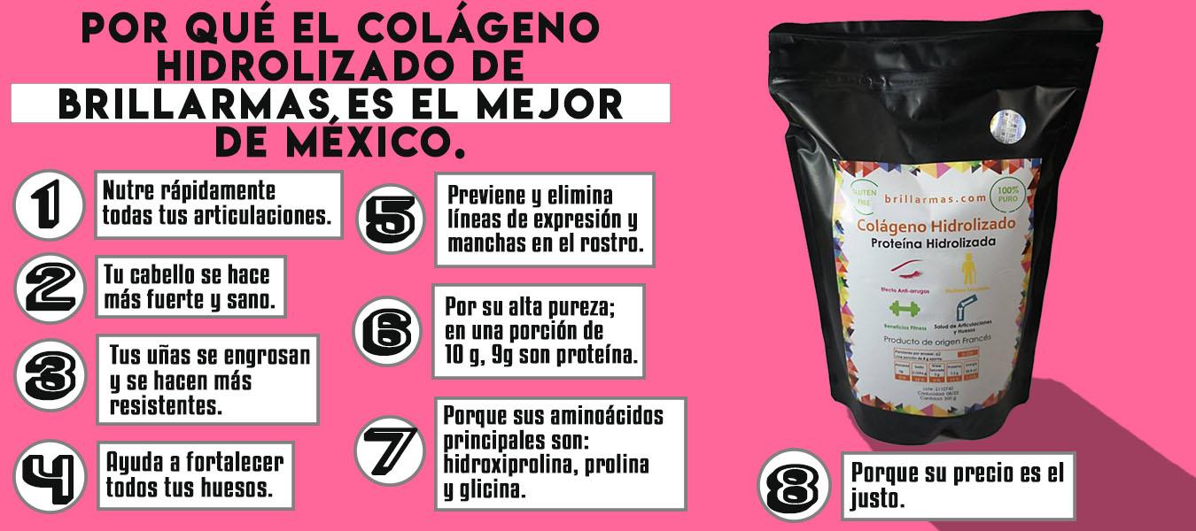 El mejor colágeno hidrolizado de México