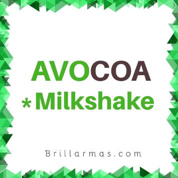 avocoa milkshake