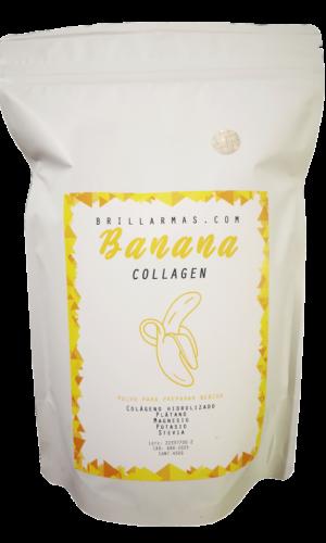Colágeno hidrolizado Banana sabor plátano 450g