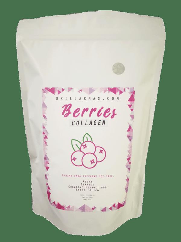 Colágeno hidrolizado Berries sabor mora azul 450 g