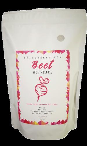 Hot-Cakes Beet sabor betabel con colágeno 400 g