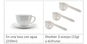 Modo de preparación del colágeno sabor café Coffee 450 g de Brillarmas