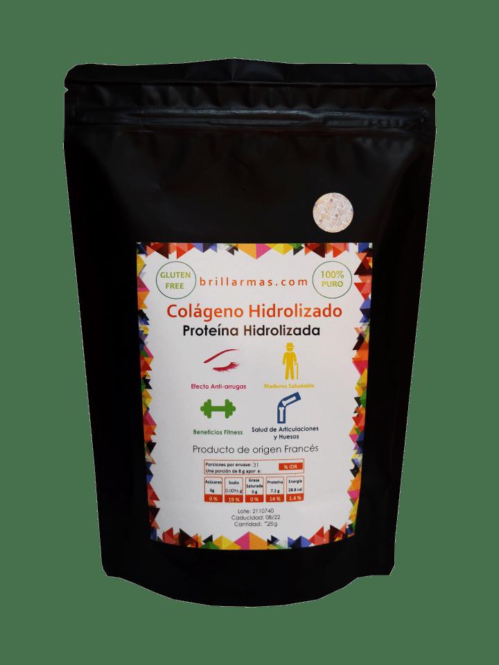 Colágeno hidrolizado puro 250 g de Brillarmas